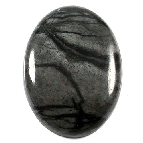 Gems&Jewels 26.60 cts 100% Natural Top Quality Picasso Jasper Cabochon Oval Loose Gemstone