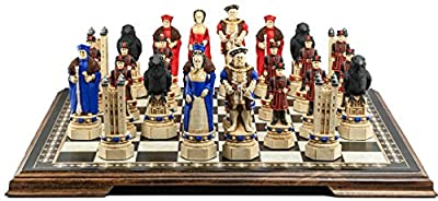 Tower of London Themed Chess Set - 5.5 Inches - In Presentation Box - Handmade and Hand-painted in UK