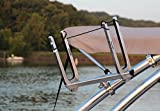 """Monster Kneeboard Rack - Quick Release - 2.5"""" Mount - Brushed and Anodized"""
