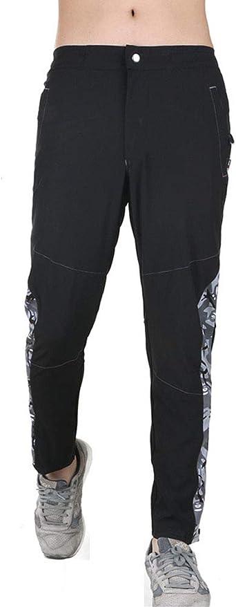 Yiqi Pantalones Hombre Trekking Chandal Ajustado Amazon Es Ropa Y Accesorios
