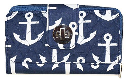 kiss-lock-navy-blue-nautical-anchor-trifold-womens-wallet