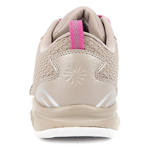 M 11 Candy sneakers Dark Grey Women's and Beige athletic THERAFIT shoes zwTqBq