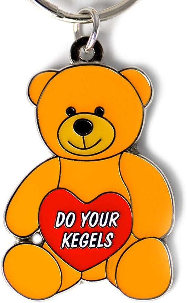 Hollabears Do Your Kegels Teddy Bear Reminder Keychain