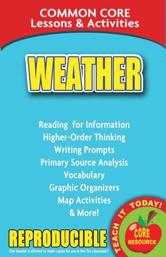 Weather - Common Core Lessons and Activities