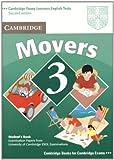 Cambridge Movers 3, Cambridge ESOL, 0521693683