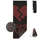 Love Game Over Deluxe Yoga Mat Aerobic Exercise Pilates