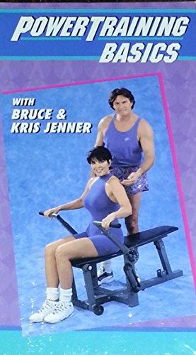PowerTraining Basics with Bruce & Kris Jenner [VHS]