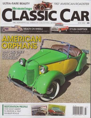 Hemmings Classic Car Magazine (July 2012)