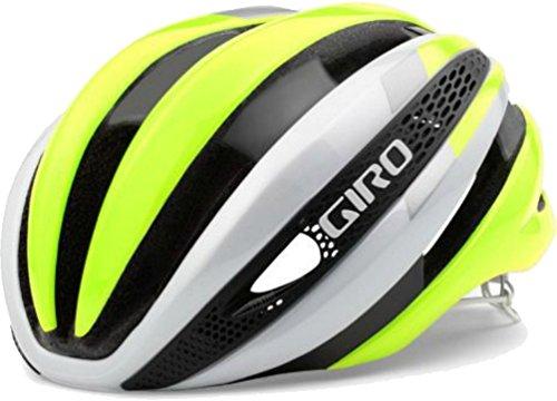 Giro Synthe Helmet White/Highlight Yellow, L