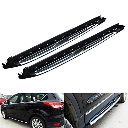 Side Step Skirt Rail Protection Guard Bar OEM Style Running Board Kit For 2013-up Kuga Escape C520 RZG