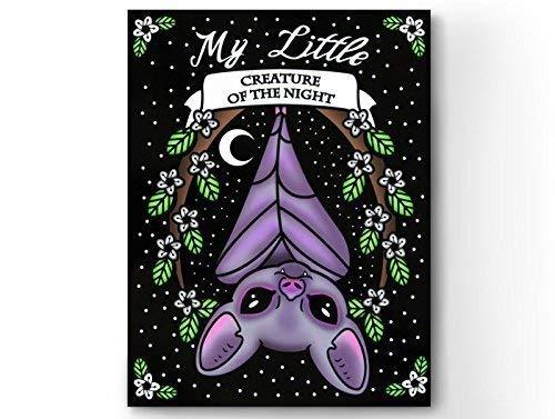 Amazon Com Vampire Bat Card Pastel Goth Bat Gothic Aesthetic