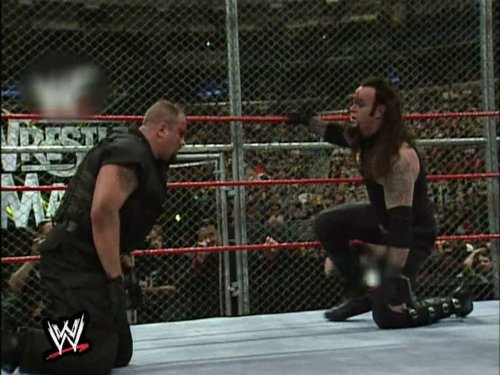 The Undertaker vs. Big Bossman Hell in a Cell Match WrestleMania XV March 28, 1999 (Wwe Action Figure Mr Mcmahon)