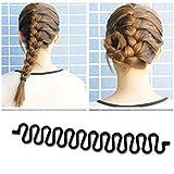 5PCS French Hair Braid Braiding Tool Roller Style Hook Hair Twist Styling Bun Maker