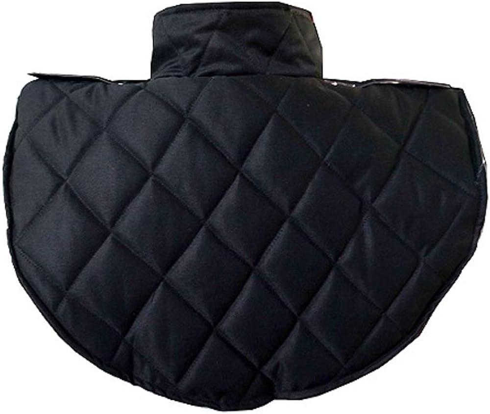 Medieval Renaissance Armor Look Stylish Cap Collar Head Neck Cotton Black Armor Padding Garment