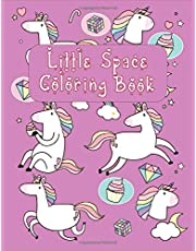 LITTLE SPACE COLORING BOOK: For Adults BDSM DDLG ABDL Lifestyle | An Activity Book for Little Space Time