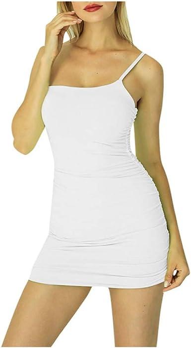 Vestidos de Mujer con Hombros Descubiertos,Vestido Ajustado sin ...