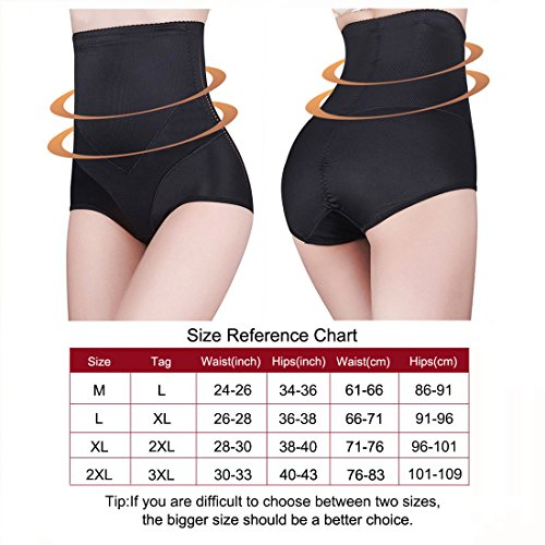 Dreamlark Women S Shaper High Waist Tummy Control Girdles Seamless Shapewear For Women Us Size L Tag Xl Black1 Buy Online In Belize Dreamlark Products In Belize See Prices Reviews And