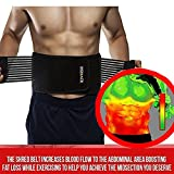 Best Belly Fat Burner Belts - Thermogenic Waist Trimmer Belt, Belly Fat Burner, Weight Review