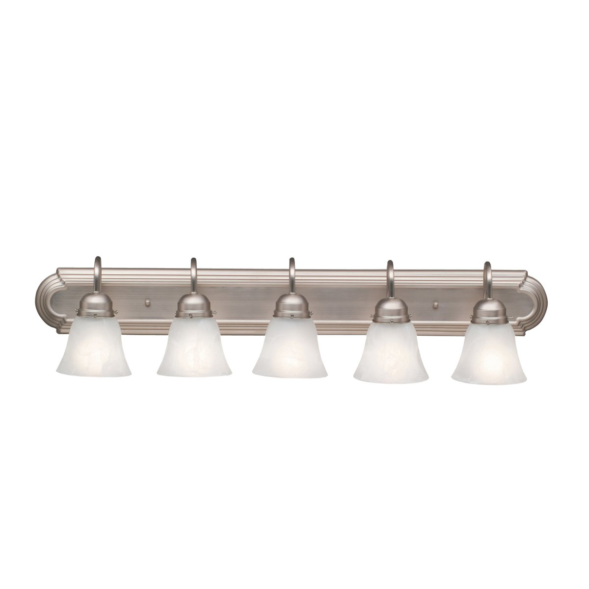 Kichler 5339NI Bath 5-Light, Brushed Nickel - Vanity Lighting ...