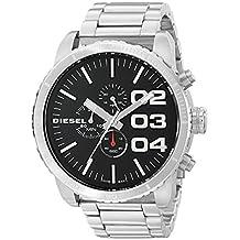 Diesel Double Down 51 DZ4209 Men's Wrist Watches, Black Dial