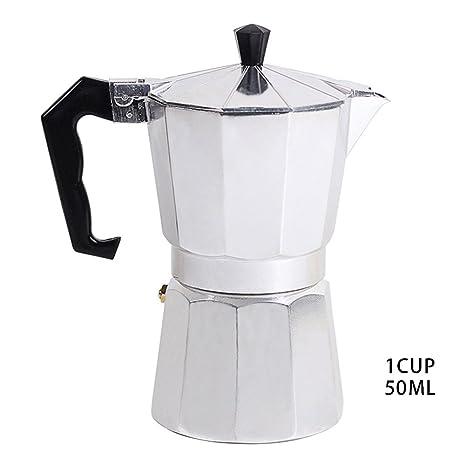 Cafetera exprés/cocina de espresso para 12 tazas/cocina a gas o eléctrica (
