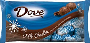 Dove Promises Silky Smooth Milk Chocolate Snowflakes, 8.87-Ounce (Pack of 4)