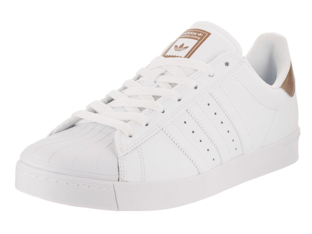 adidas Originals Men's Superstar Vulc Adv Shoes B01LZ6ZGQ1 8 B(M) US Women / 7 D(M) US Men|Footwear White/Copper Metallic/Footwear White