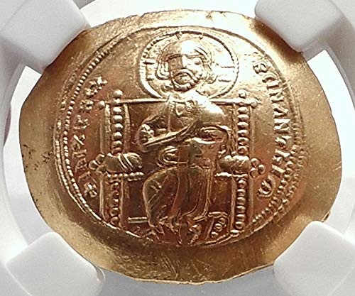 1059 TR Jesus Christ Ancient 1059AD Gold Byzantine Coin o coin MS NGC