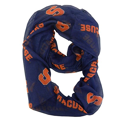 Ncaa Syracuse Orange  Sheer Infinity Scarf