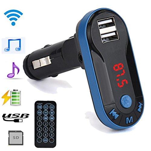 (Creazy Bluetooth Wireless FM Transmitter MP3 Player Handsfree Car Kit USB TF SD Remote)