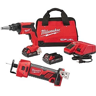Milwaukee Drywall Screwgun Kit with Cutout Tool 2866-22CTP