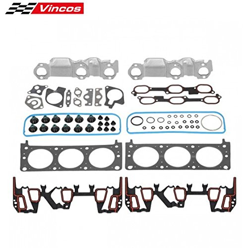Head Gasket Set Replacement For Chevrolet/Pontiac Grand Compatible with Buick/Oldsmobile 3.1L 1999-2003