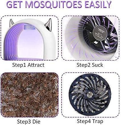 FEALING L/ámpara Mosquito Electrico,UV L/ámpara antimosquitos,Electrico L/ámpara Anti Mosquitos,Repelente de Mosquitos para la Cocina la Sala de Estar el Cuarto de los Ni/ños