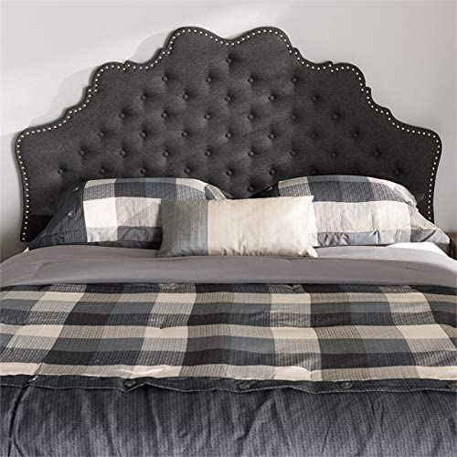 Baxton Studio Hilda Tufted Queen Panel Headboard