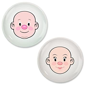 Fred and Friends Food Face Dinner Plate 2 Pack  sc 1 st  Amazon.com & Amazon.com : Fred and Friends Food Face Dinner Plate 2 Pack : Baby ...