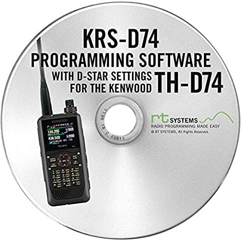 RT Systems KRS-D74 Programming Software and USB Micro B cable for the Kenwood TH-D74A (Programming Software)