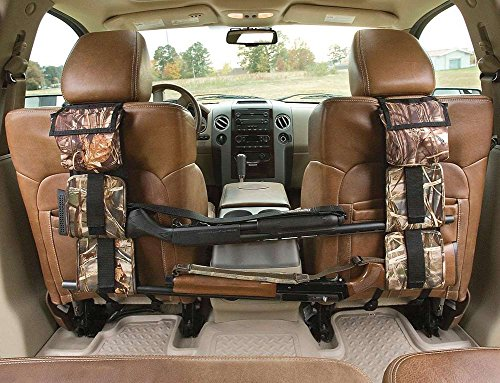 Enjoydeal Performance Hunting Gear Back Seat Gun Sling Holder Universal Fit for Truck SUV Car Shooting Accessories, Realtree Max 4 by Enjoydeal