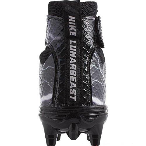 Nike Herren Lunarbeast PRO TD Fußballschuh Weiß Grau Schwarz