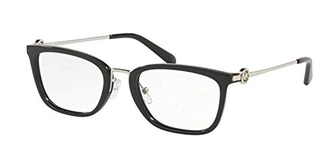 b6852e62262c Image Unavailable. Image not available for. Color: Eyeglasses Michael Kors  MK 4054 3005 BLACK
