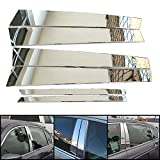 6pcs-Stainless-Steel-Center-Door-Pillar-Cover-with-3M-Adhesive-Tape