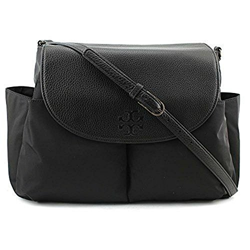 Nylon Black Messenger Thea Women Tory Burch Crossbody Handbag Baby Bag ZfwFqAE