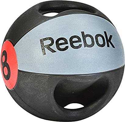 Reebok Double Grip 8Kg Balón Medicinal de Doble Agarre, Unisex ...