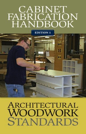 AWS Cabinet Fabrication Handbook, used for sale  Delivered anywhere in USA