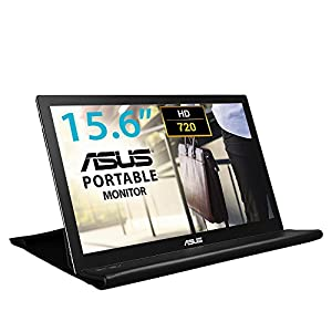 ASUS MB168B Portable Monitor – 15.6 Inch USB-Powered, Ultra-Slim, Auto-rotatable