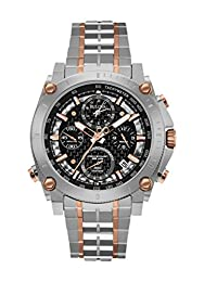 Bulova Men's 98G256 Precisionist Analog-Quartz Black Watch