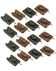 Generic 16er 1: 144 Toy Kit, Army Tank Figures Accessory Model