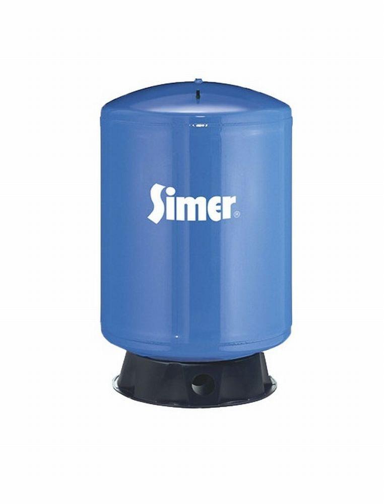 Pentair Water-Flotec-Simer VT96 85 Gallon Vertical Pre-Charged Bladder Tank, Blue