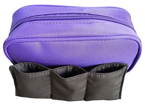 Essential Oils Case – Bonus 3 Vial Case for Purse or Trave