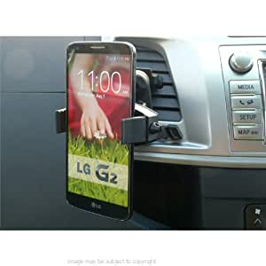 Easy-Fit Mobile Grip Car Vent Mount for LG G2 Mobile Smartphone