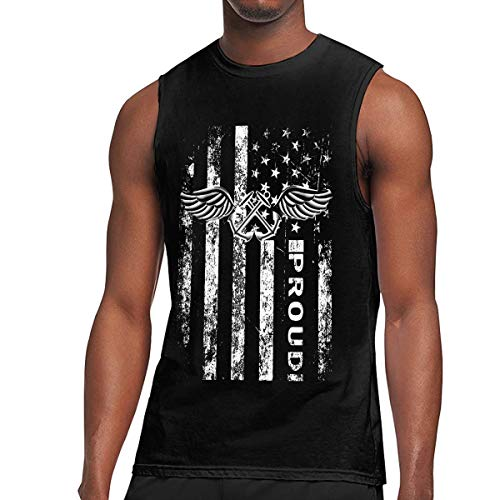 US Navy Aviation Boatswain's Mate Rating Badge Mens Sleeveless Activewear Top Jersey